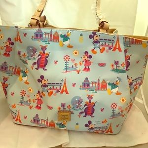 NWT Disney Flower & Garden Dooney & Bourke Tote